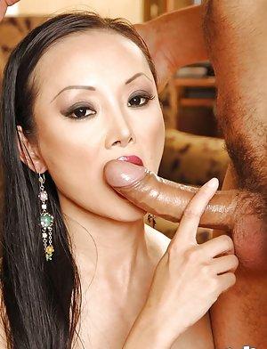Busty Asian Blowjob Pics